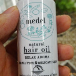 乾燥や紫外線ダメージを受けたくせ毛もしっとりまとまる!天然由来成分100%「medel(メデル)ヘアオイル」